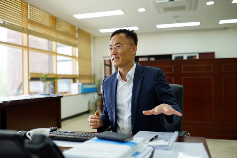 이흥노 GIST연구원장이 4차 산업혁명 시대에 대비하기 위해 계획 중인